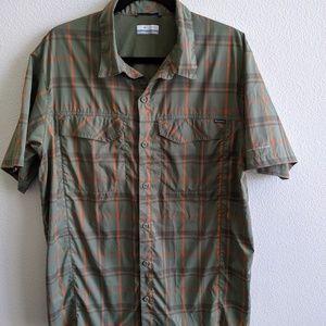 Columbia Omni-Shade Hiking/Fishing Shirt L